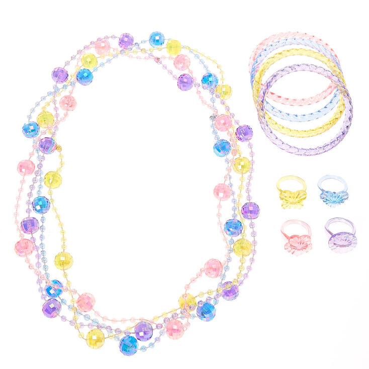 Claire's Club Pastel Spring Fun Jewellery Set ...