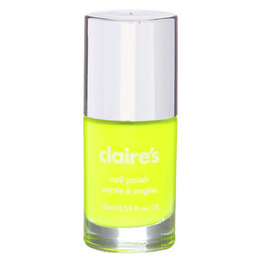 Solid Nail Polish - Neon Yellow,
