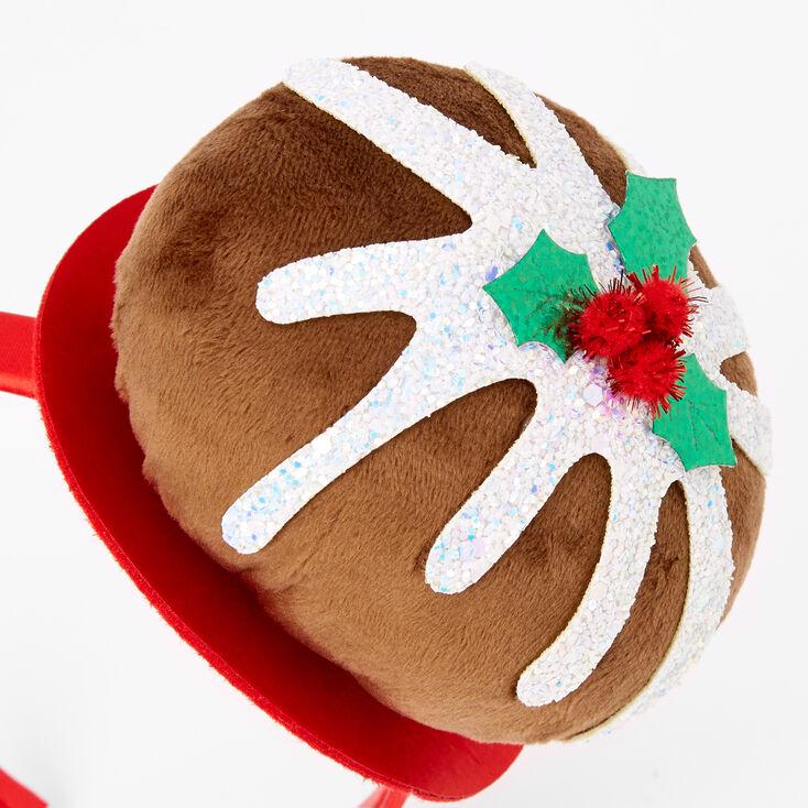 Figgy Pudding Plush Holiday Headband,