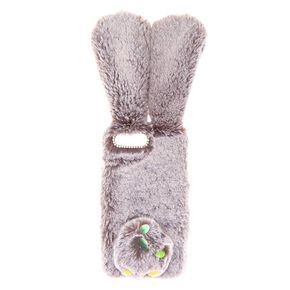 Faux Fur Bunny Phone Case - Fits iPhone 5/5S/5SE,