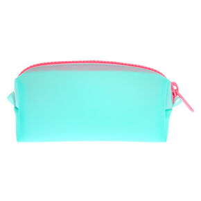 Frosted Makeup Bag - Mint,