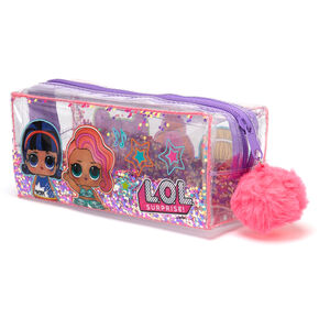 L.O.L. Surprise!™ Glitter Pencil Case – Clear,