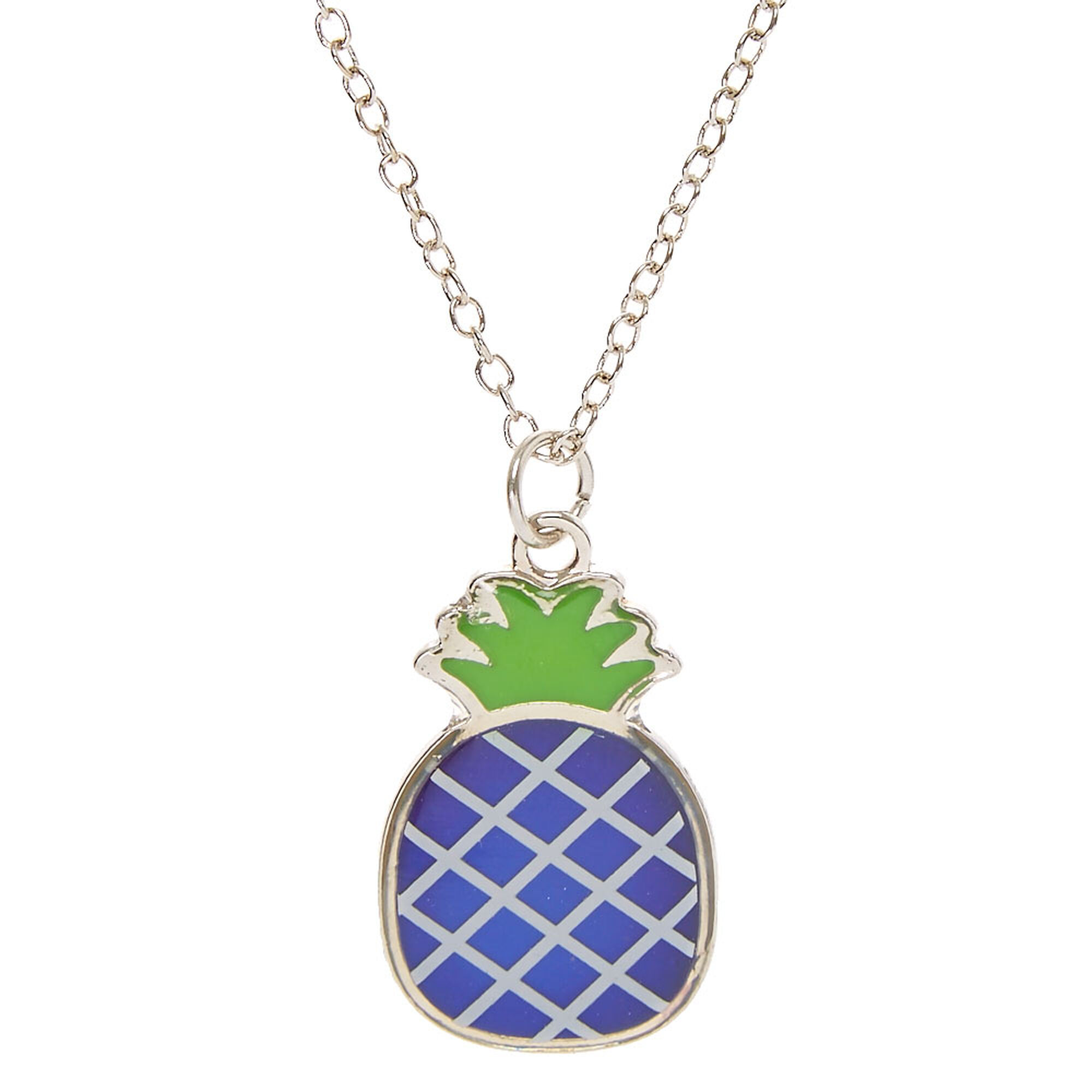 products gold pineapple large mary img necklace white and