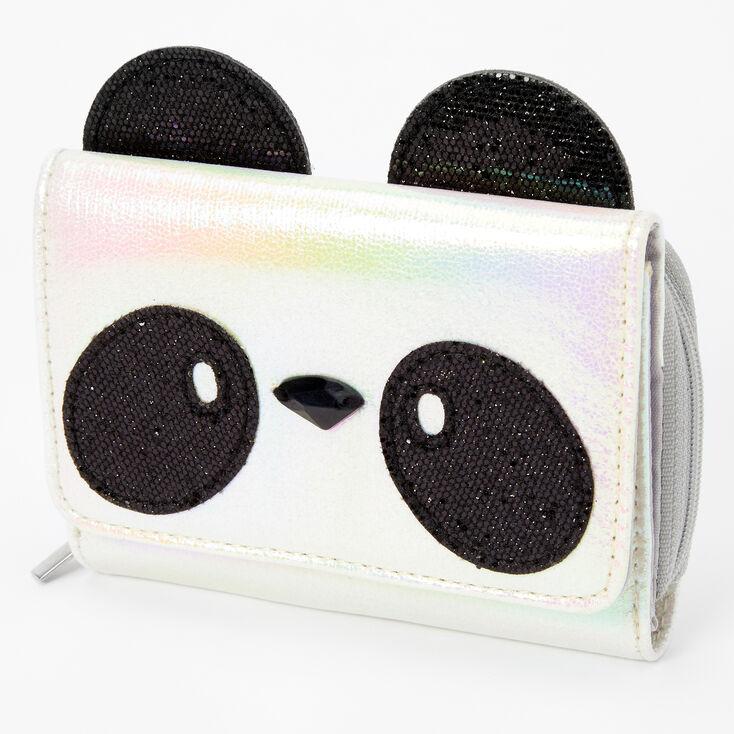 Panda Mini Wallet - White,