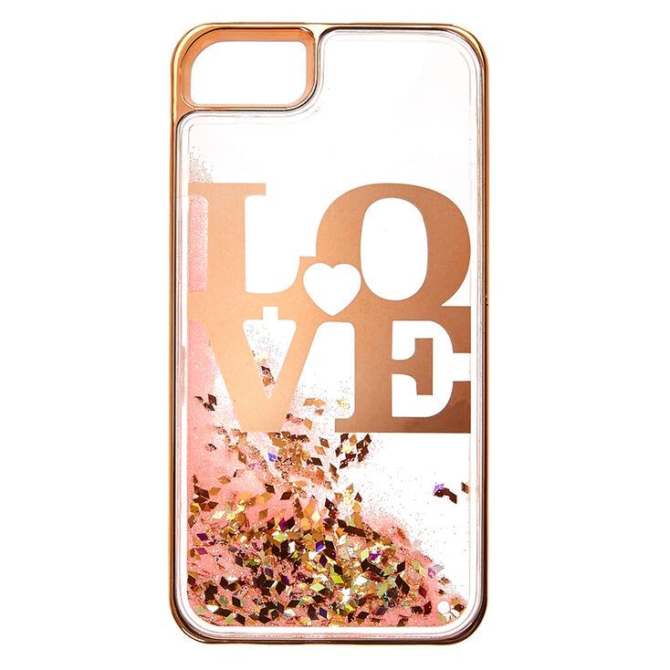 the latest 5fd15 f9e08 Love Liquid Filled Phone Case