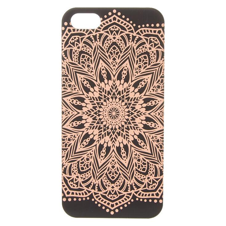 new styles 7dc71 b8aa2 Rose Gold Mandala Phone Case