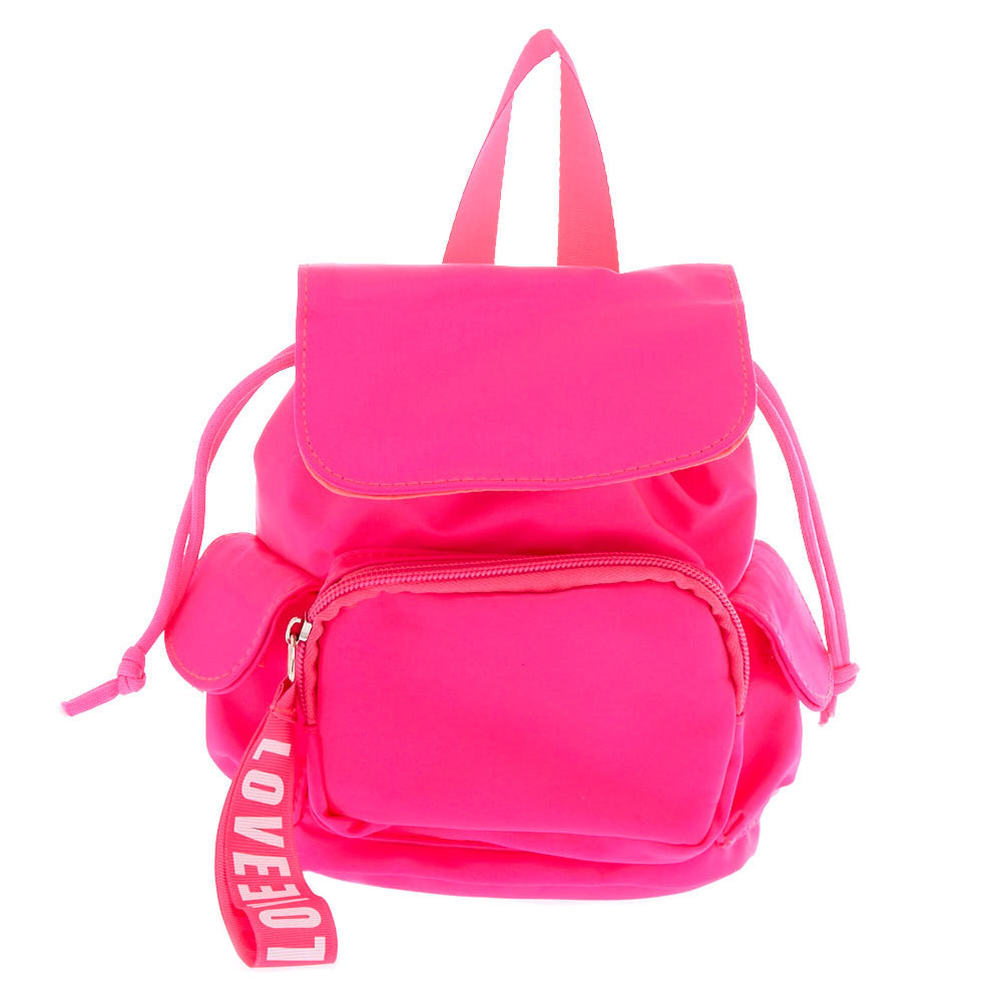 57bd8eb3695e Neon Pink Mini Backpack- Fenix Toulouse Handball