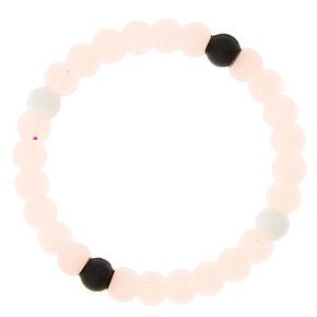 Glow In The Dark Fortune Stretch Bracelet - Pink,