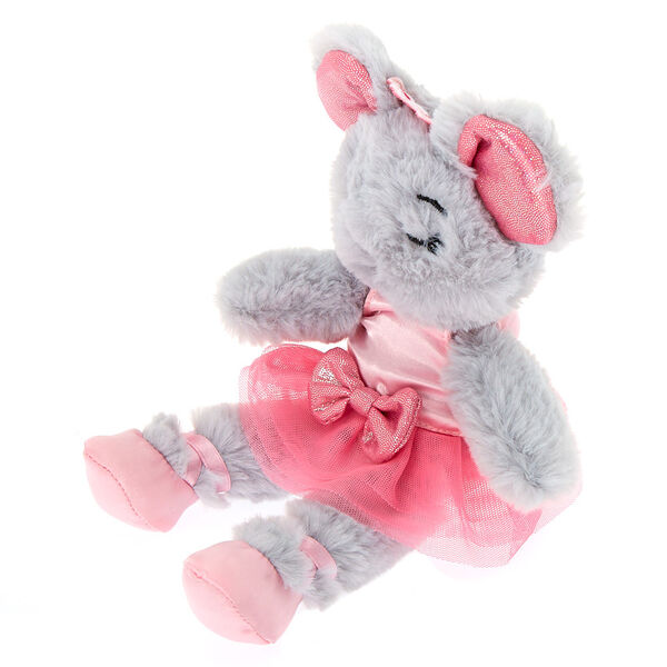 Claire's - clubsmall chloe the mouse soft toy - 2