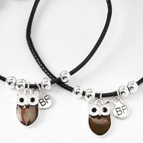 Mood Owl Adjustable Friendship Bracelets - 2 Pack,