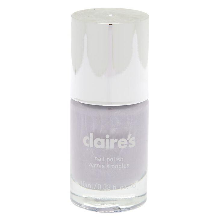 Solid Nail Polish - Lilac Gray | Claire\'s US