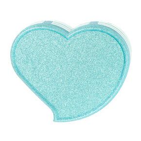 bbc83dac1b6 Blue Glitter Heart Shaped Makeup Set