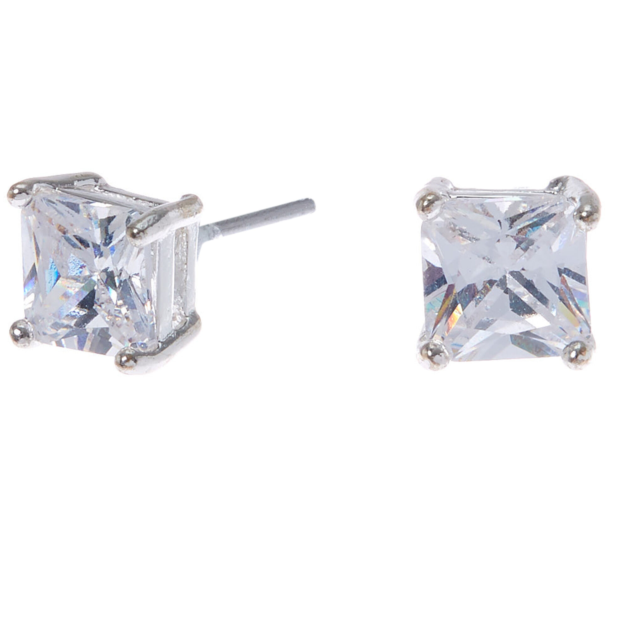 square earrings products geometric open diamond buy wg oval stud yellow pave gold