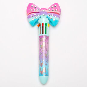 JoJo Siwa™ 10 Colour Bow Pen - Blue,