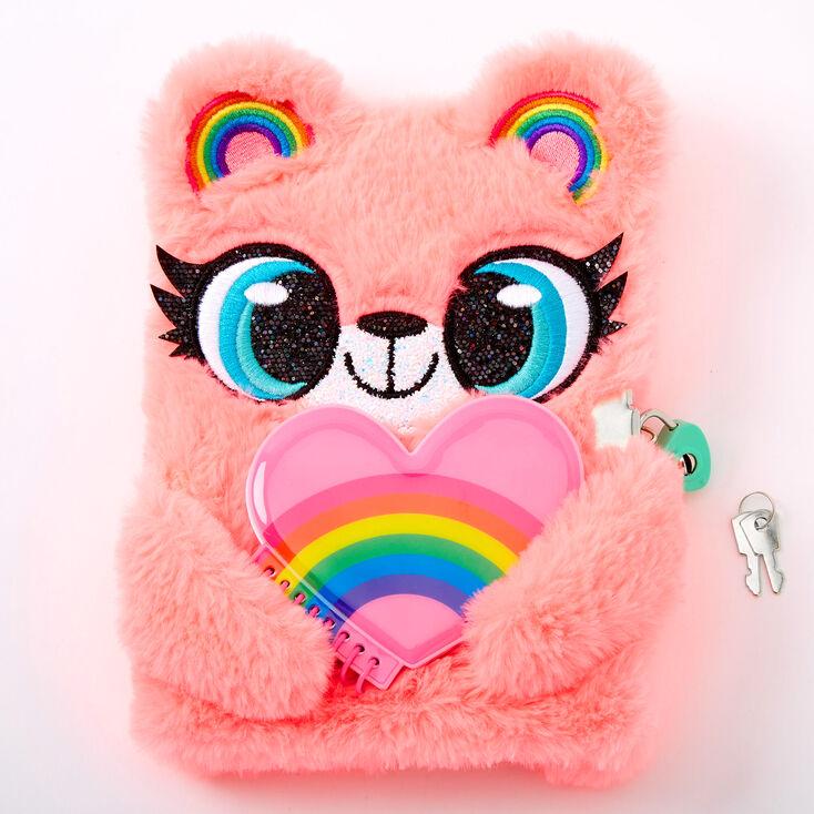 Izzy the Bear Lock Diary - Pink,