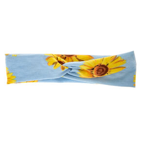 Sunflower Twisted Headwrap,