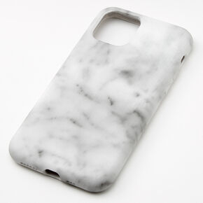 White Marble Protective Phone Case - Fits iPhone 11 Pro,