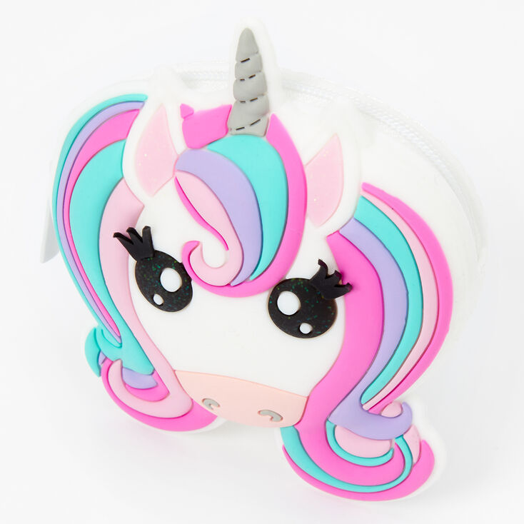 Unicorn Jelly Coin Purse - Pink,