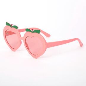 Pretty As A Peach Sunglasses - Orange,