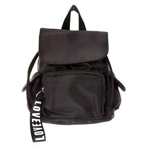 Nylon Mini Backpack - Black,
