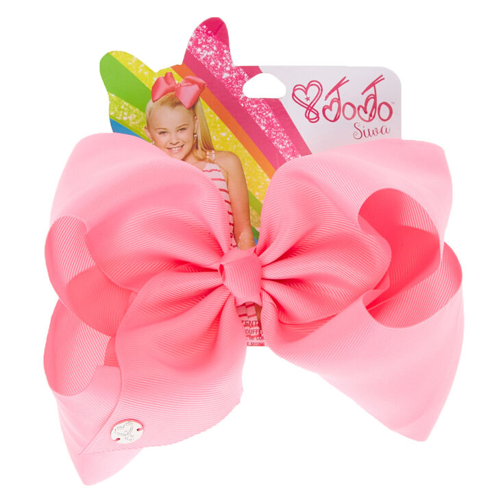 3c34ac2e62d57 JoJo Siwa trade  Large Pink Signature Hair Bow