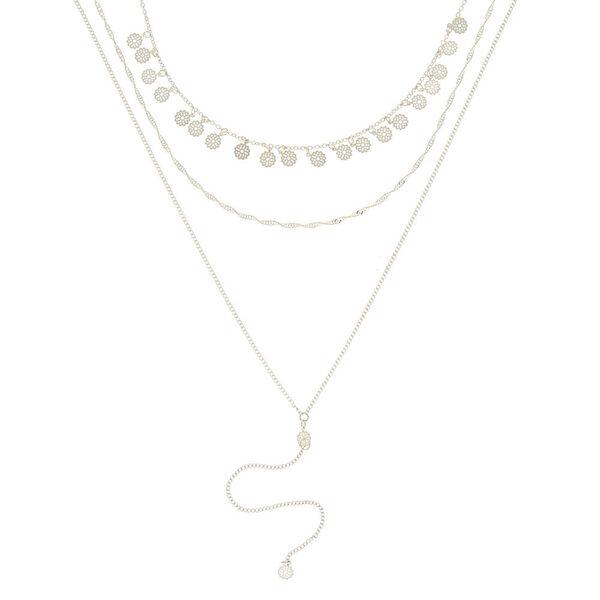 Claire's - filigree flower necklaces - 2