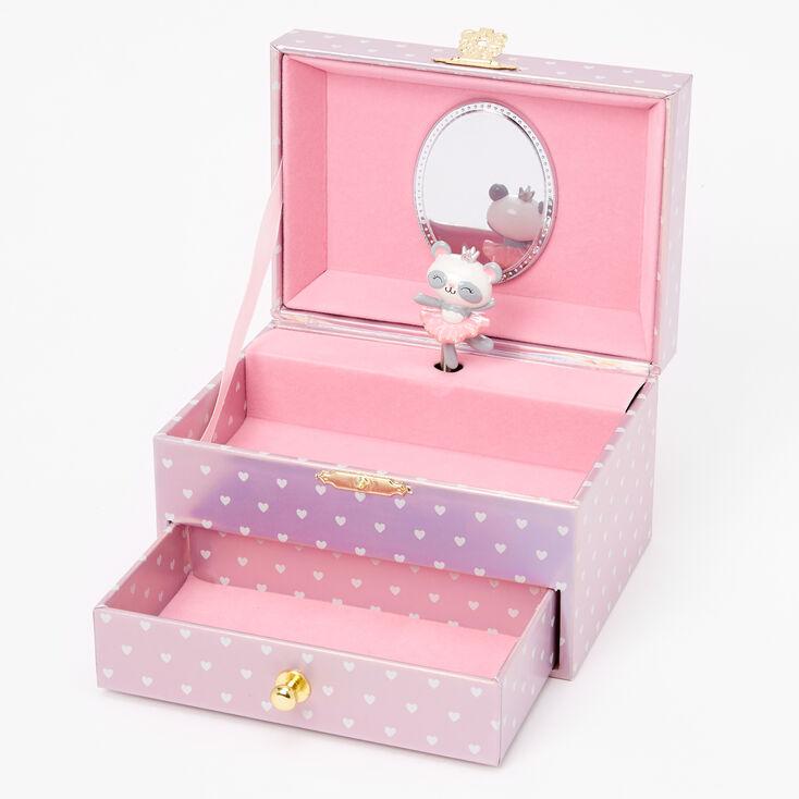 Claire's Club Paige the Panda Ballerina Musical Jewelry Box,