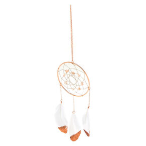 Metallic Dreamcatcher Wall Art - Rose Gold,