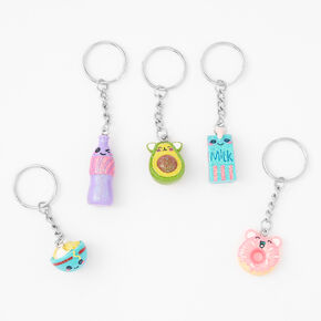 Best Friends Mixed Mini Mart Keychains - 5 Pack,