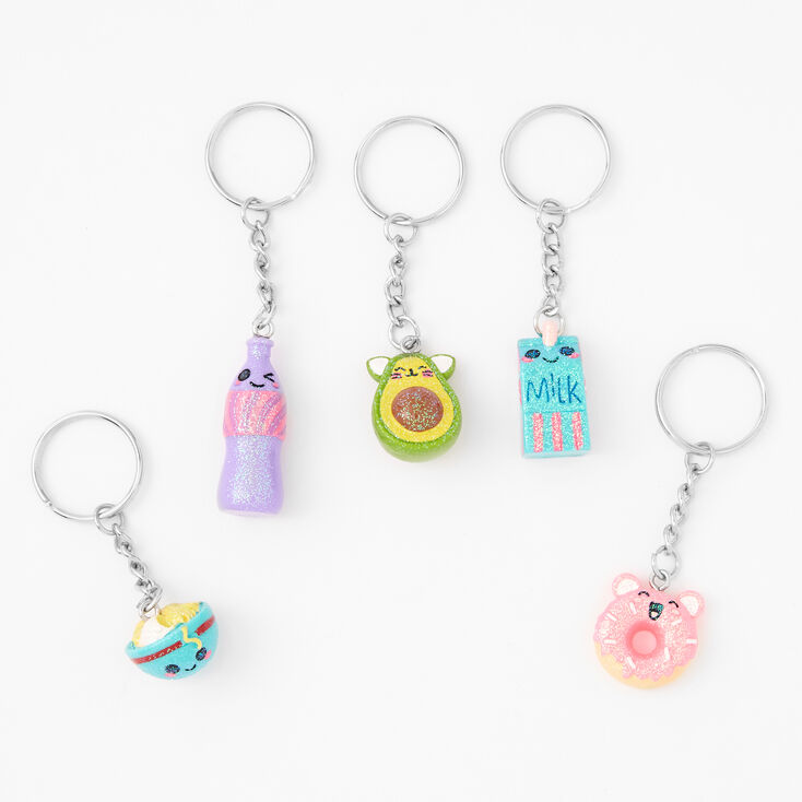 Best Friends Mixed Mini Mart Keychains - 5 Pack,