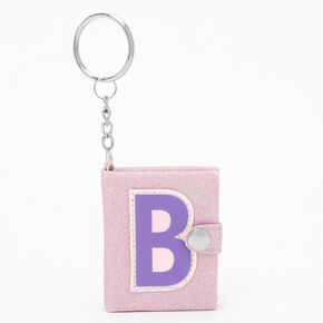 Initial Mini Journal Keychain - B,