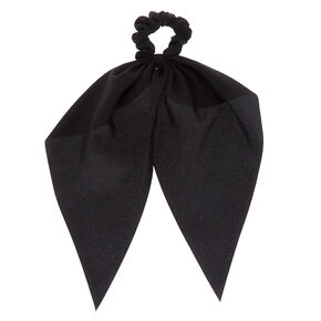 Petit chouchou foulard - Noir,