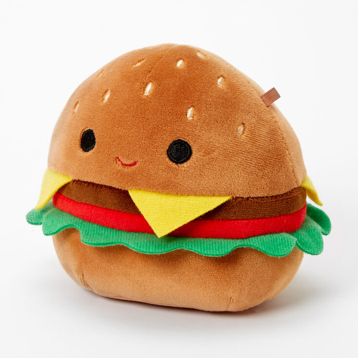 "Squishmallows™ 5"" Cheeseburger Soft Toy,"