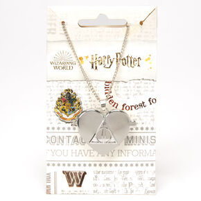 Harry Potter™ Deathly Hallows Locket Necklace – Silver,