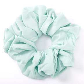 Giant Chiffon Hair Scrunchie - Mint,