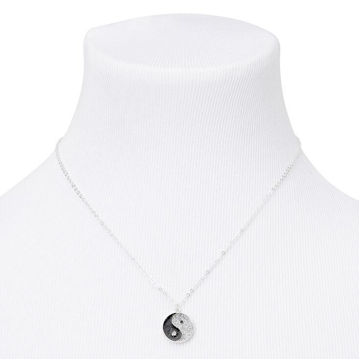 Silver Glitter Yin Yang Jewellery Gift Set - 3 Pack,