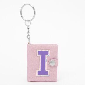 Initial Mini Diary Keychain - I,