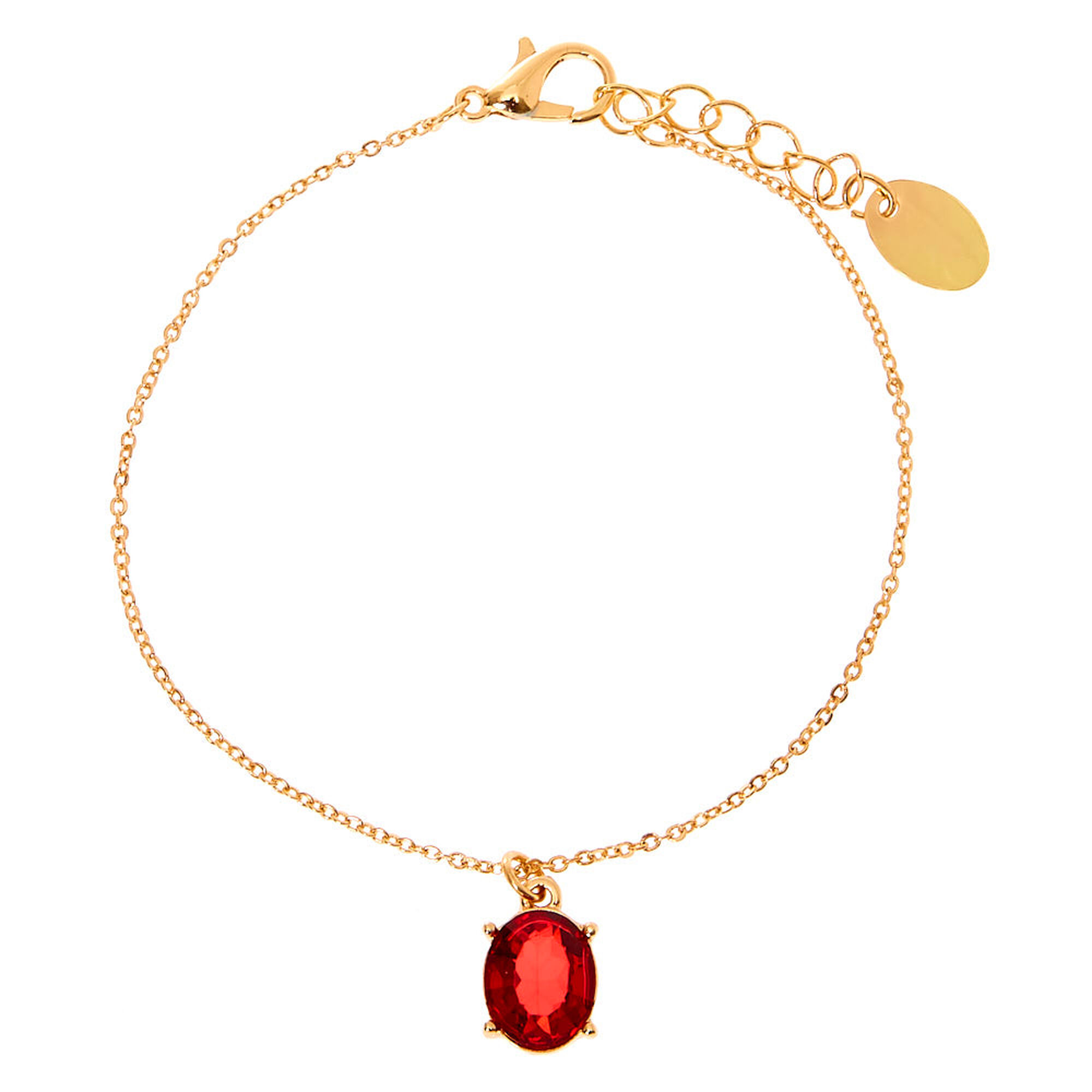 July Birthstone Jewellery Gift Set Ruby 3 Pack Claire S
