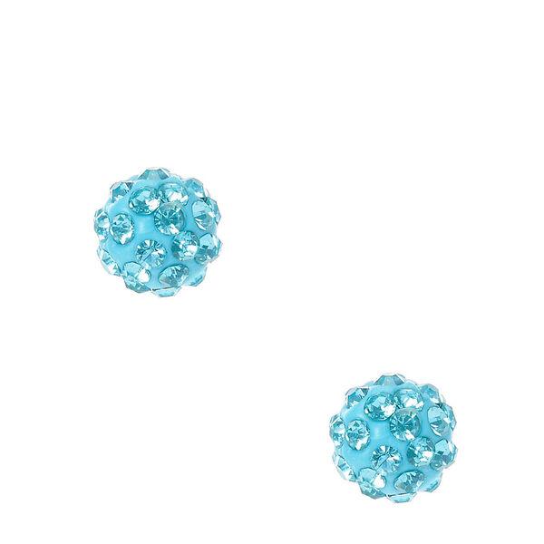 Claire's - fireball stud earrings - 1