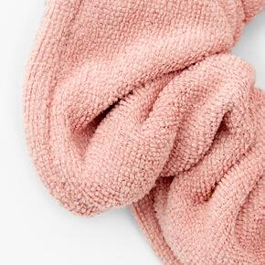 Chouchou serviette de taille moyenne - Rose tendre,