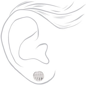 Silver Spiritual Mixed Earrings - 9 Pack,
