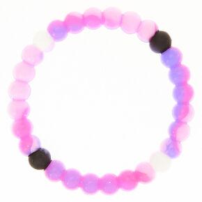 Marble Fortune Stretch Bracelet - Pink,