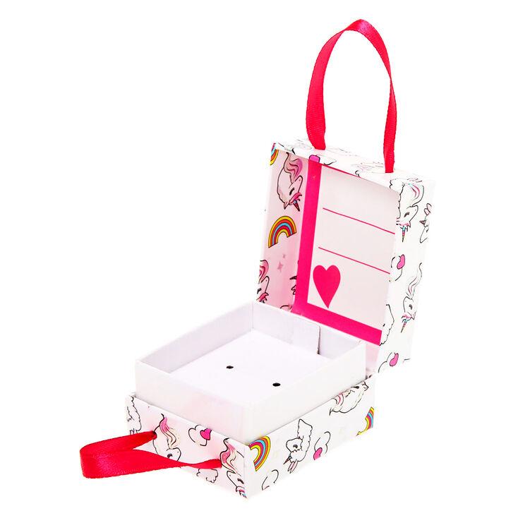 Small Miss Glitter the Unicorn Gift Box - White,