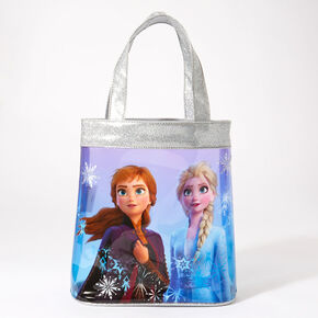 ©Disney Frozen 2 Elsa and Anna Tote Bag – Silver,