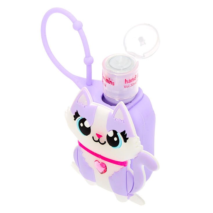 Carly the Cat Hand Lotion - Grape,