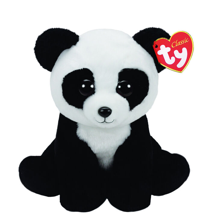 Ty Beanie Baby Small Baboo The Panda Plush Toy Claire S Us