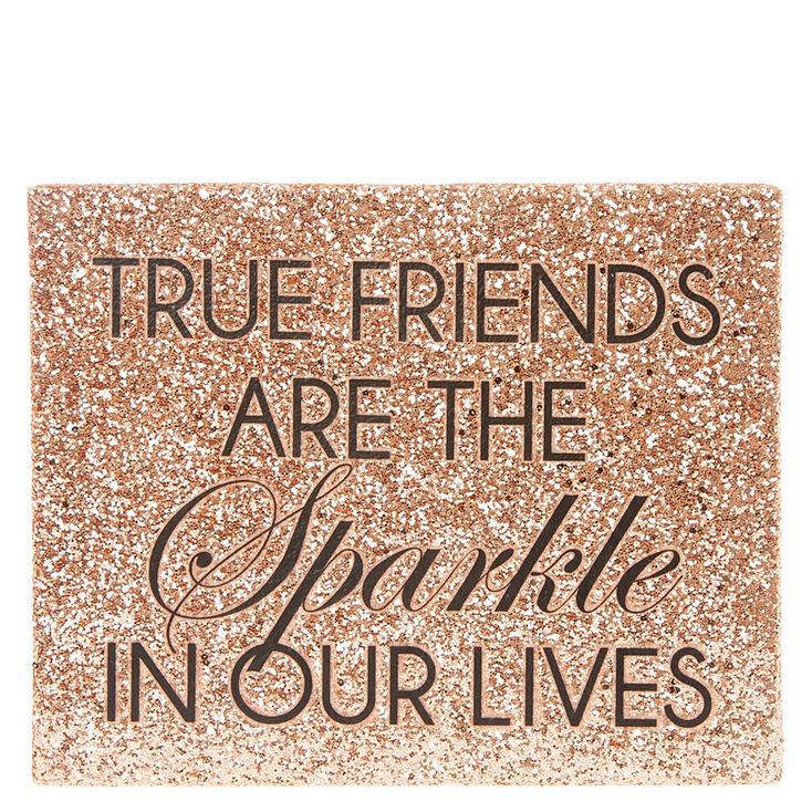 True Friends Rose Gold Wall Art,