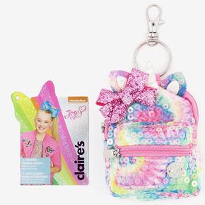 Porte-clés mini sac à dos à sequins JoJo Siwa™ - Rose,