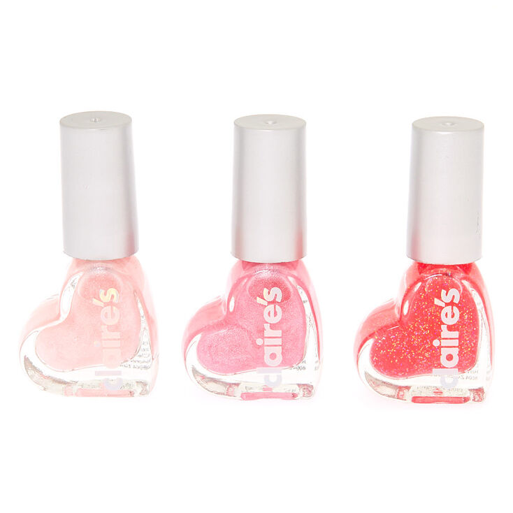 Pretty in Pink Peel-Off Nail Polish Set - 3 Pack,
