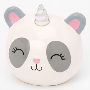Claire's Club Pandacorn Piggy Bank,